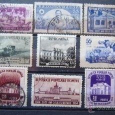 Sellos: RUMANIA - LOTE. 11 SELLOS USADOS .. Lote 43910920