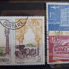Francobolli: RUMANIA - IVERT 2261+A209 USADOS ( DIA DEL SELLO ). Lote 43957166