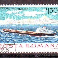 Francobolli: RUMANIA.ROMANIA.AÑO 1979.TRANSPORTES.BARCOS.SELLO USADO CON GOMA.. Lote 97211899