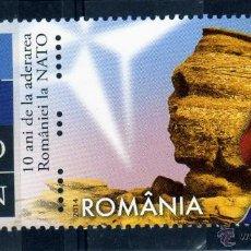 Sellos: ++ RUMANIA / ROMANIA / ROUMANIE AÑO 2014 NATO - OTAN USADA. Lote 45230218