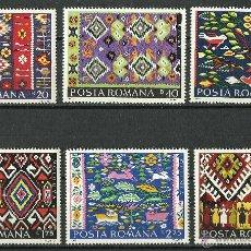 Sellos: RUMANIA - 1975 - SCOTT 2583/2588** MNH. Lote 49258485