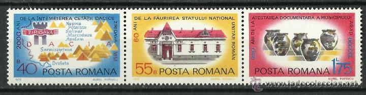 RUMANIA - 1978 - SCOTT 2809/2811A** MNH (Sellos - Extranjero - Europa - Rumanía)