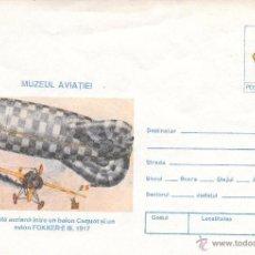Sellos: RUMANIA. SEP CON SELLO Y MOTIVO DE AVIONES Y ZEPPELIN. Lote 49307297