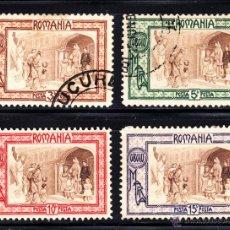 Sellos: RUMANIA 203/06 - AÑO 1907 - PRO OBRAS DE BENEFICENCIA . Lote 49524097