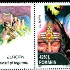 Sellos: RUMANIA 1997 SERIE LEYENDAS NUEVO LUJO MNH *** SC. Lote 49621072