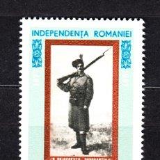 Sellos: RUMANIA 2301** - AÑO 1967 - 90º ANIVERSARIO DE LA INDEPENDENCIA. Lote 49870413