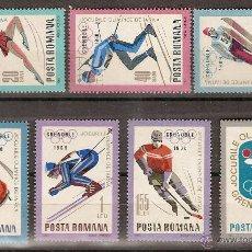 Sellos: RUMANIA ** & JOGOS OLÍMPICOS DE INVERNO GRENOBLE 1967 (2620). Lote 50482135