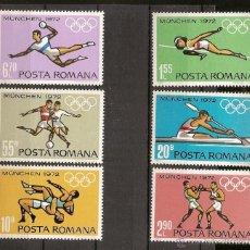 Sellos: RUMANIA ** & ROMÉNIA & JOGOS OLÍMPICOS DE MUNIQUE 1972 (3012). Lote 50482317