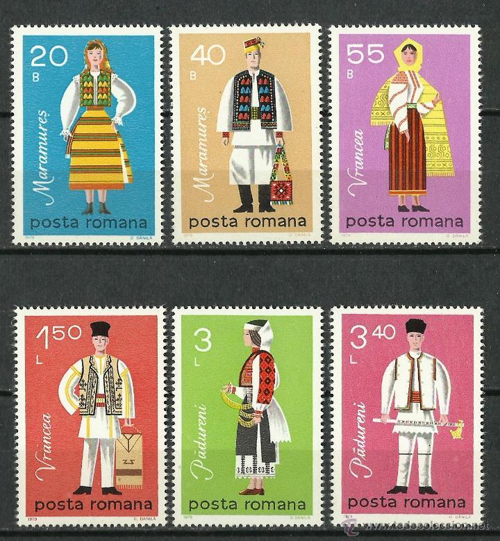 RUMANIA - 1979 - SCOTT 2916/2921** MNH (Sellos - Extranjero - Europa - Rumanía)