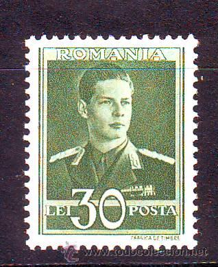 RUMANIA.AÑO 1940-42.REY MICHEL I.YVERT NR.631.VALOR NUEVO SIN FIJASELLOS. (Sellos - Extranjero - Europa - Rumanía)