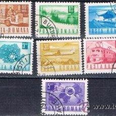 Sellos: RUMANIA - LOTE 9 SELLOS - VARIOS (USADO) LOTE 5. Lote 50831603