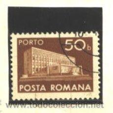 Sellos: RUMANIA 1974 - YVERT NRO. 137 TAXA - USADO. Lote 52461638