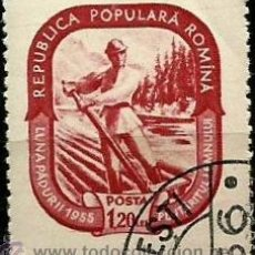 Stamps - RUMANIA 1955- YV 1372 - 52769358