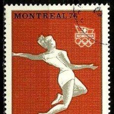 Sellos: RUMANIA 1976- YV 2964. Lote 52806111