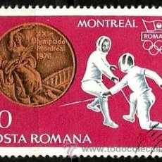 Sellos: RUMANIA 1976- YV 2985. Lote 52806125