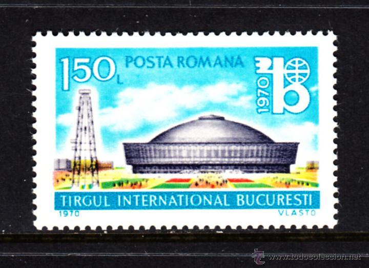 RUMANIA 2551** - AÑO 1970 - EXPOSICION DE BUCAREST (Sellos - Extranjero - Europa - Rumanía)
