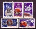 RUMANIA 1965 IVERT 2180/4 *** CONQUISTA DEL ESPACIO - SATÉLITES (Sellos - Extranjero - Europa - Rumanía)