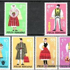 Stamps - Rumania 1973 Ivert 2745/50 *** Trajes Tipicos Regionales - 54395115