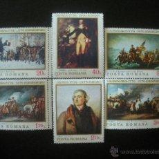 Sellos: RUMANIA 1976 IVERT 2943/8 *** XII JUEGOS OLIMPICOS DE INVIERNO EN INNSBRUCK - DEPORTES. Lote 54414777