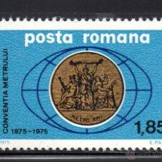Sellos: RUMANIA 2898** - AÑO 1975 - CENTENARIO DE LA CONVENCION INTERNACIONAL DEL METRO. Lote 54685625