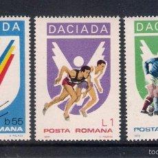 Sellos: DACIANDA (DEPORTES) EN RUMANÍA. AÑO 1978. Lote 55814853
