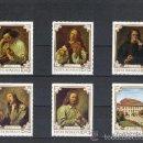 Sellos: RUMANIA 1970 IVERT 2580/2585 *** CUADROS DEL MUSEO DE BRUCKENTHAL - PINTURA- ARTE. Lote 56093277