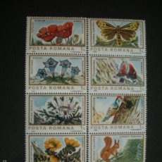 Stamps - Rumania 1983 Ivert 3465/74 *** Fauna y Flora Europea - 56094215