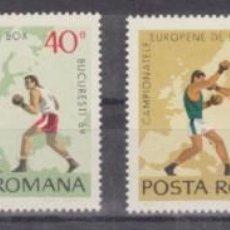Stamps - RUMANIA 1969 - BOXEO - YVERT Nº 2464-2467 - 56993452