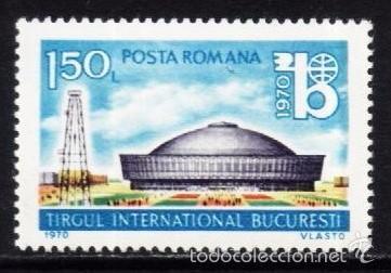 RUMANIA 1970 - EXPO BUCAREST - YVERT Nº 2551 (Sellos - Extranjero - Europa - Rumanía)