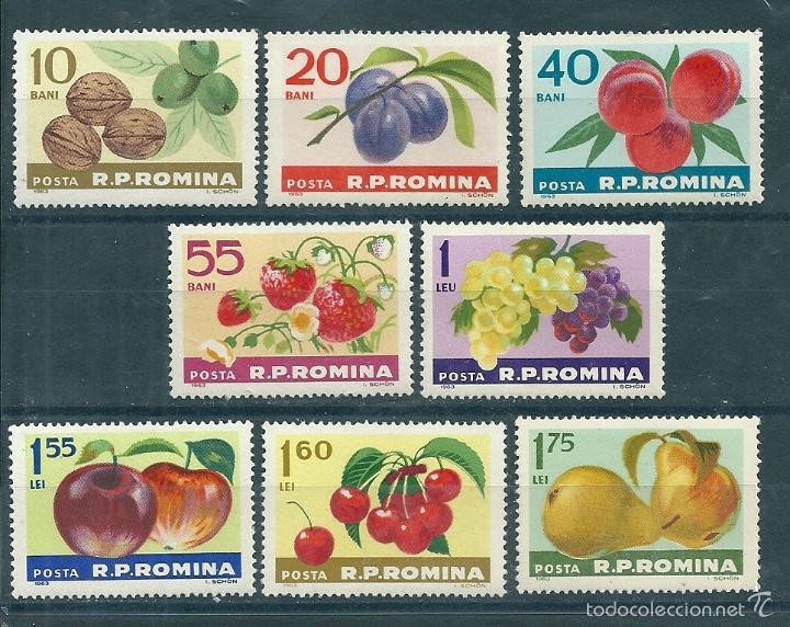 RUMANIA Nº 1929/36 (YVERT). AÑO 1963. (Sellos - Extranjero - Europa - Rumanía)