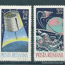 Sellos: RUMANIA Nº 2143/4 (YVERT). AÑO 1965.. Lote 58229108
