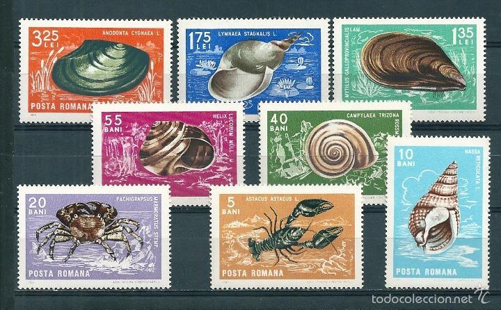 RUMANIA Nº 2240/7 (YVERT). AÑO 1966. (Sellos - Extranjero - Europa - Rumanía)