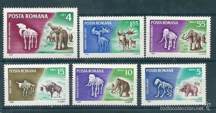 RUMANIA Nº 2267/72 (YVERT). AÑO 1966. (Sellos - Extranjero - Europa - Rumanía)