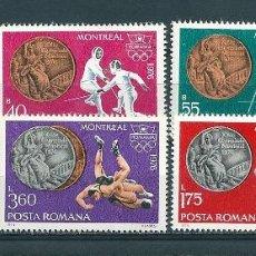 Sellos: RUMANIA Nº 2984/90 (YVERT). AÑO 1976.. Lote 58229287