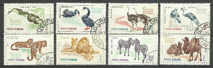 RUMANIA - 1964 - MICHEL 2330/2337 // SCOTT 1677/1684 - USADO (Sellos - Extranjero - Europa - Rumanía)
