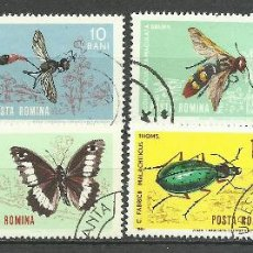 Stamps - Rumania - 1964 - Michel 2260/2267 // Scott 1615/1622 - Usado - 65986374