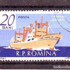 Francobolli: RUMANIA ROMANIA .AÑO 1961.BARCOS.NAVAL A. Lote 76953559