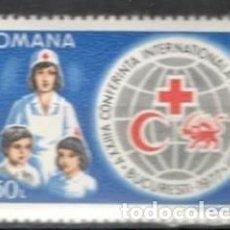 Sellos: RUMANIA. 1977. ANIVERSARIO CRUZ ROJA. MNH**. Lote 70161946
