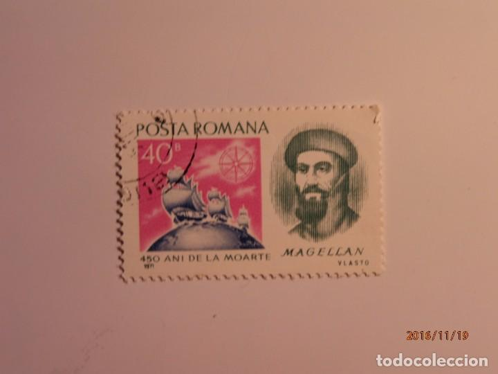 450 AÑO MUERTE DE MAGALLANES - 1971 - RUMANIA (Sellos - Extranjero - Europa - Rumanía)