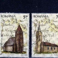 Sellos: ++ RUMANIA / ROMANIA / ROUMANIE AÑO 2012 USADA IGLESIAS. Lote 74278475
