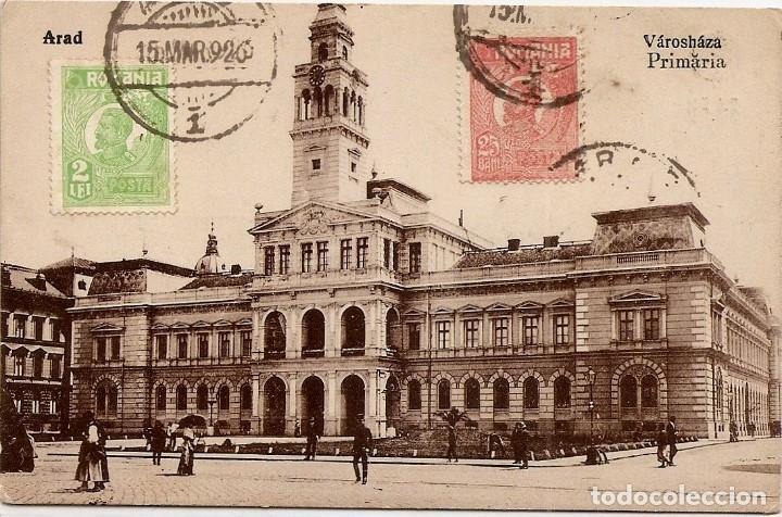 RUMANÍA 1926 - TARJETA POSTAL CIRCULADA A LA CORUÑA (ESPAÑA) (Sellos - Extranjero - Europa - Rumanía)