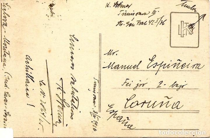 Sellos: RUMANÍA 1926 - TARJETA POSTAL CIRCULADA A LA CORUÑA (ESPAÑA) - Foto 2 - 82214512