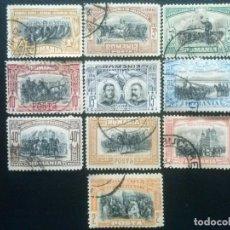 Sellos: RUMANÍA , YVERT Nº 172 - 181 SERIE COMPLETA , 1906. Lote 89189736