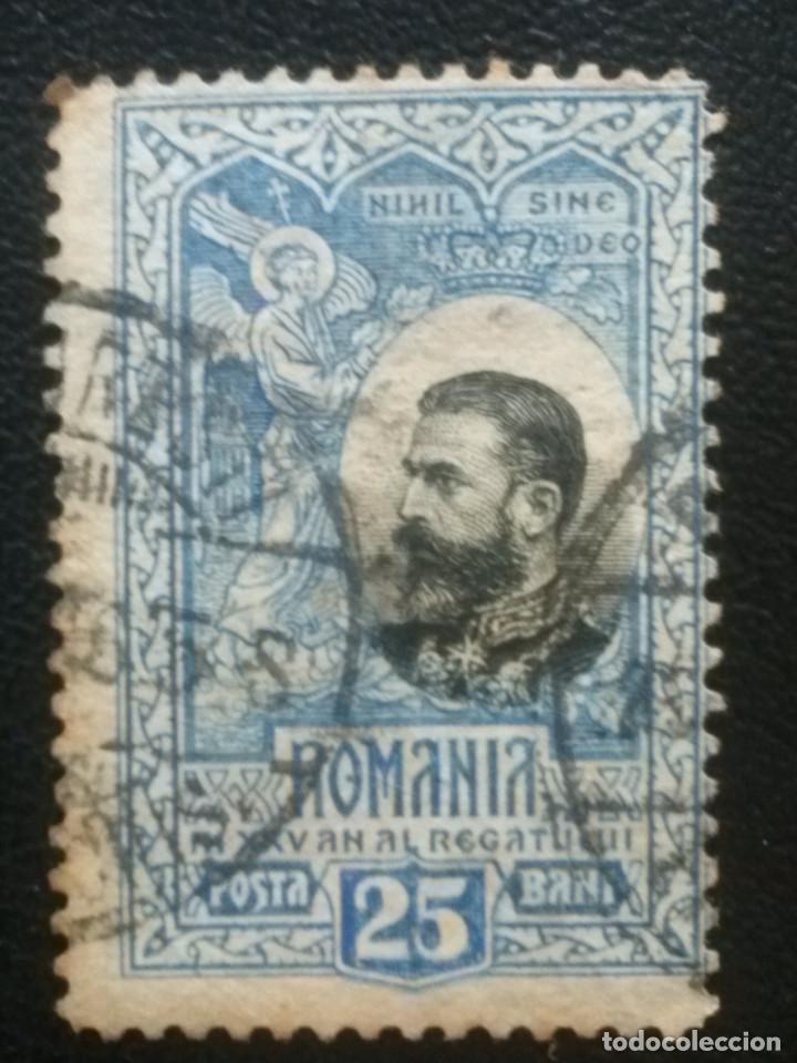 RUMANÍA , YVERT Nº 187 , 1906 (Sellos - Extranjero - Europa - Rumanía)