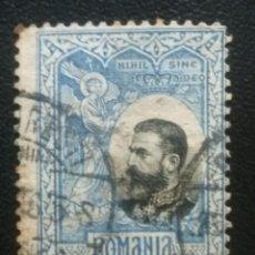 Sellos: RUMANÍA , YVERT Nº 187 , 1906. Lote 89191324