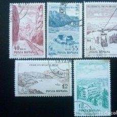 Francobolli: RUMANÍA , YVERT Nº 2013 - 2017 SERIE COMPLETA , 1964 . Lote 89276112