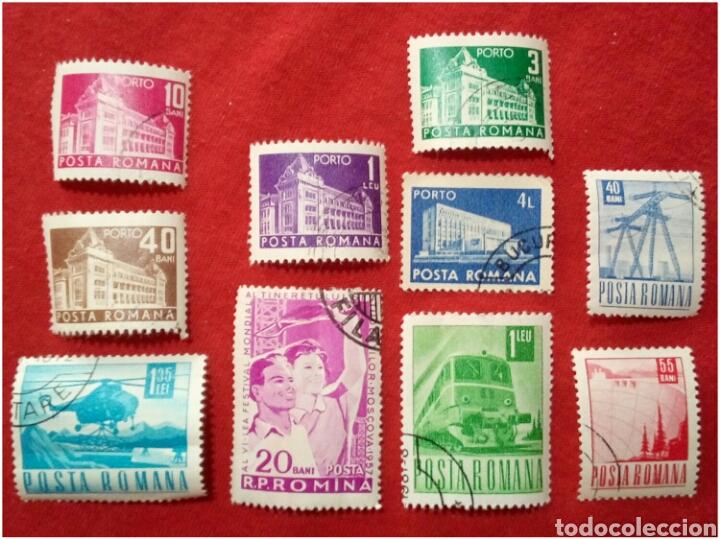 LOTE 10 SELLOS DE RUMANÍA N145 (Sellos - Extranjero - Europa - Rumanía)