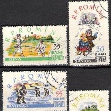 Sellos: RUMANIA 1960 - USADO. Lote 101261847