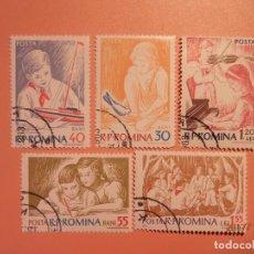 Sellos: RUMANÍA - INFANCIA - NIÑOS JUGANDO.. Lote 105368015