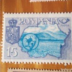 Sellos: SELLOS ANTIGUO RUMANIA. Lote 105687935
